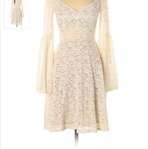 NWT BCBGMaxAzria Medina White Lace Dress